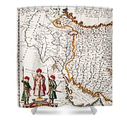 Mesopotamia, 1662 Shower Curtain