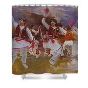 004 Pakhtun Shower Curtain