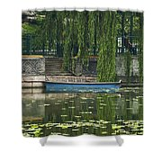 0044-2- Row Boat Shower Curtain