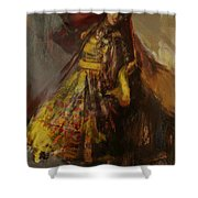 008 Pakhtun B Shower Curtain