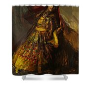 008 Pakhtun Shower Curtain