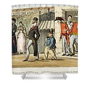 Paris Occupation, 1814 Shower Curtain