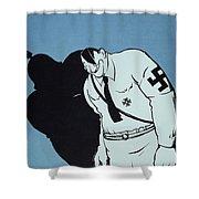 Adolf Hitler Cartoon, 1935 Shower Curtain
