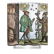 Wine Merchant, 1582 Shower Curtain