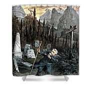 Grant Cartoon, 1880 Shower Curtain