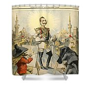 William II Of Germany Shower Curtain