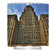 01 Buffalo Ny City Hall Shower Curtain