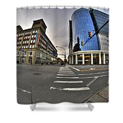 01 Delaware And Chippewa Dec2015 Shower Curtain