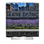 01 Plaza Of Stars Buffalo Theatre District Shower Curtain