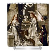 Spain: Annunciation, C1500 Shower Curtain