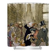 Rackham: City, 1924 Shower Curtain