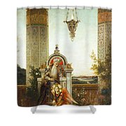 Moreau: King David Shower Curtain