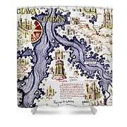 Marco Polo (1254-1324) Shower Curtain