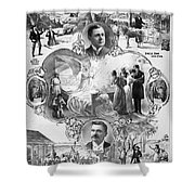 Uncle Tom's Cabin, C1899 Shower Curtain