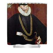 Sir John Hawkins Shower Curtain