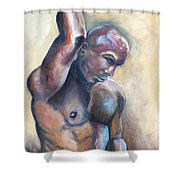 01335 Driver Shower Curtain