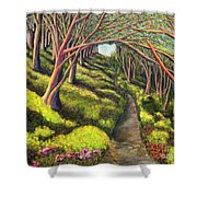 01350  Spring  Shower Curtain