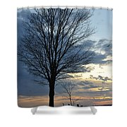 015 April Sunsets Shower Curtain