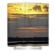 019 April Sunsets Shower Curtain
