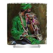 023 Sindh Shower Curtain