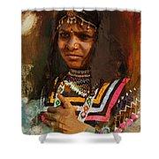 025 Sindh B Shower Curtain