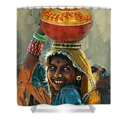 028 Sindh Shower Curtain
