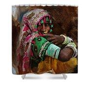 029 Sindh Shower Curtain