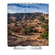 030715 Palo Duro Canyon 025 Shower Curtain