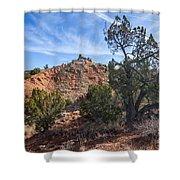 030715 Palo Duro Canyon 043 Shower Curtain