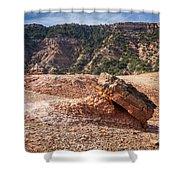030715 Palo Duro Canyon 049 Shower Curtain