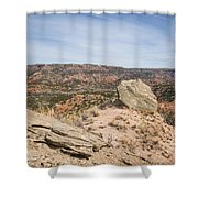 030715 Palo Duro Canyon 118 Shower Curtain