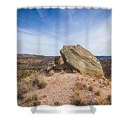 030715 Palo Duro Canyon 123 Shower Curtain