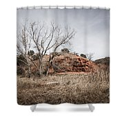 030715 Palo Duro Canyon 161 Shower Curtain