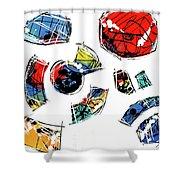 040310db Shower Curtain