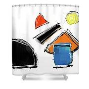 040803aa Shower Curtain