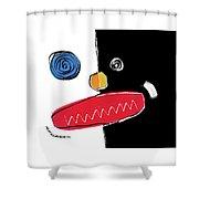 040811ba Shower Curtain