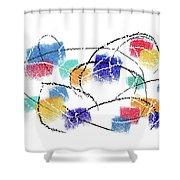 040827aa Shower Curtain