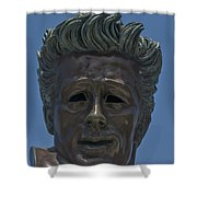 0439- James Dean Shower Curtain