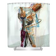 04957 Second Thoughts Shower Curtain
