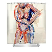 04991 What Next Shower Curtain