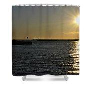 05 Sunset 16mar16 Shower Curtain