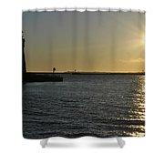 06 Sunset 16mar16 Shower Curtain