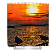 06 Sunset Series Shower Curtain