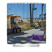 0700- Healer Shower Curtain