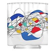 070118aa Shower Curtain