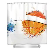 070311aa Shower Curtain