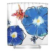 070430aa Shower Curtain