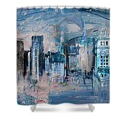 072 Wrigley Buildings In Chicago. Shower Curtain