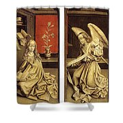 07464 Rogier Van Der Weyden Shower Curtain