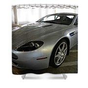 08 Aston Martin Shower Curtain